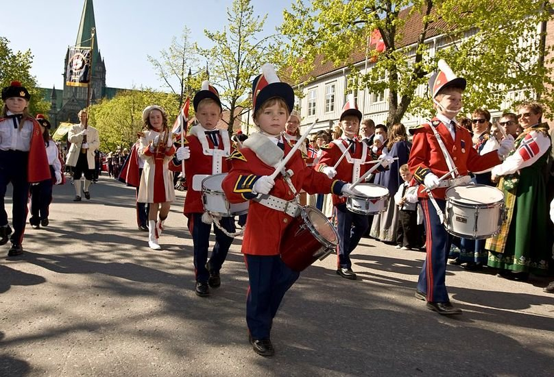 May 17th, Norway's national day